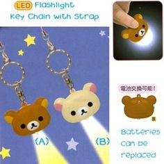 San-X Rilakkuma LED Light Key Chain
