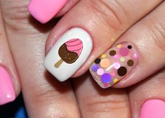 www.moonsugardecals.com offers over 100 different salon quality nail art decal sets for any occasion. We also do custom orders. #summer #icecream #nails You can also find us on Amazon https://www.amazon.com/s/s/ref=sr_nr_p_89_0?fst=as%3Aoff%2Cp90x%3A1&rh=i%3Aaps%2Ck%3AMoon+sugar+Nail+Art%2Cp_89%3AMoon+Sugar+Decals&keywords=Moon+sugar+Nail+Art&ie=UTF8&qid=1525987314&rnid=2528832011