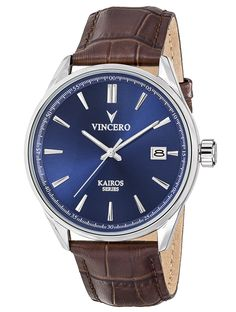 The Kairos Blue/Brown Watch