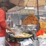 Food Tour : Flavors of India Food, Green Peas, Agra, Taste Buds, Recipe Using, Street Food, Crisp, Spicy, Easy Meals