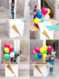 Idea de regalo grande para un peque ;):