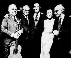 Dilermando Reis, Francisco de Assis Barbosa, JK,  d. Sarah e Antônio Houaiss