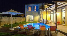 Calma Seaside Villa - Authentic Crete, Villas in Crete, Holiday Specialists Crete Holiday, Villas, Seaside, Bedrooms, Outdoor Decor, Home Decor, Decoration Home, Room Decor, Mansions