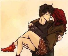 Patch y Nora ❤ Hush Hush