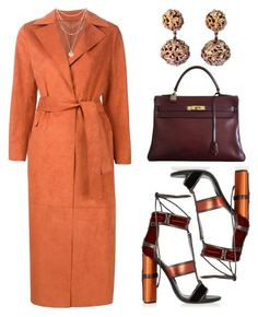 """Peakmill Inspired"" by kimeechanga ❤ liked on Polyvore featuring MSGM, Tom Ford, Hermès, Yves Saint Laurent, Forever 21 and vintage"