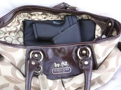4 Large Auto Concealed carry purse holster by CreativeConceal