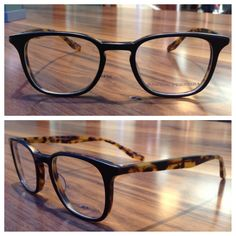 'Woody' in Matte Black Amber Tortoise. $499.00 at The Pinhole Effect.