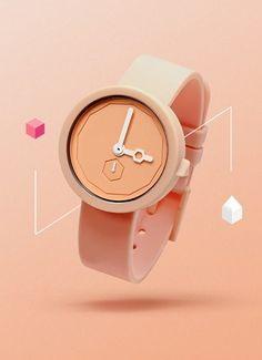Peach watch / aark