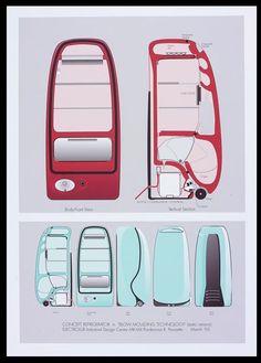 Concept design, Roberto Pezzetta, 1993
