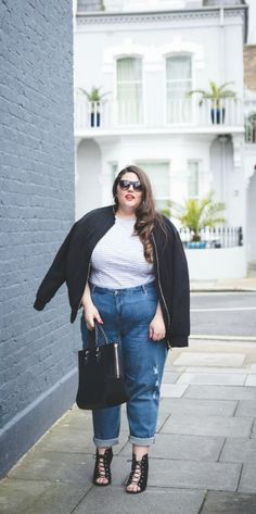 Click through the most stylish plus-size fashion bloggers for serious street style inspiration at @Stylecaster | 'From the Corners of the Curve' stylecaster.com/