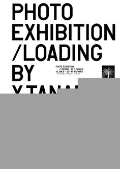 LOADING | Photography Exhibition Poster Layout Design | Award-winning Graphic Design | D&AD