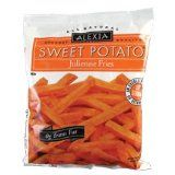 Alexia sweet potato fries are delicious and also happen to be gluten free.  Most fries are not.  The labels used to say gluten free until Alexia started making bread they took the gluten free off the label because of the slight chance of cross contamination.  Though the equipment is not shared.  I eat them and have never had a problem.  They also make sweet tater tots...delicious!