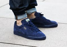 Puma Suede Classic+ Iced Peacock-Gold Foil-1