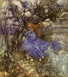A Fairy - Arthur Rackham