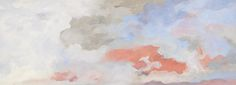 Jon Schueler    The Search, V   oil on canvas 1981   79 x 216 inches
