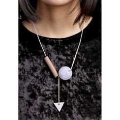 Complex Geometric Necklace (BTAC03365MIX)