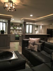 Basement Ideas. The Theme Of This Whole Lower Level Is Mainly To Be An  Extension