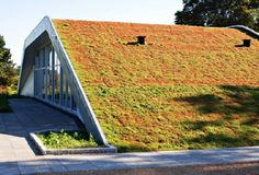 Green Roofed M2 Hill House by Bjarke Ingels Group, Denmark. More pics: www.big.dk