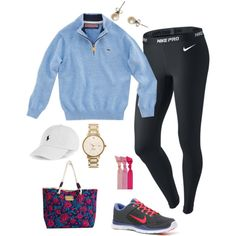 lazy days can be stylish-A fashion look from October 2013 featuring NIKE, pink halloween costumes and nike shoes. Browse and shop related looks.