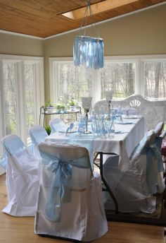 What if we had different themed tables? Cinderella table