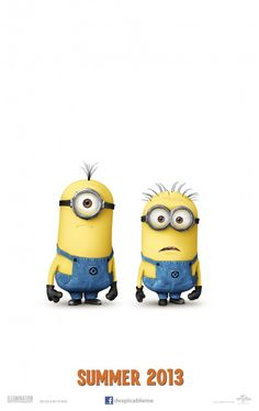 Despicable Me 2. In theatres 7.3.13