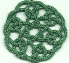 """Tatted Celtic Knot"" Booklets by Rozella Florence Linden"