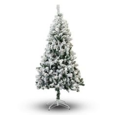 The Holiday Aisle This Flocked Christmas Tree is made from durable, high-quality materials. This fantastic tree is constructed with fully hinged branches for quick and easy set-up. Christmas Tree 4 Feet, White Christmas Trees, Christmas Tree Wreath, Christmas Holidays, Christmas Decorations, Christmas Ornaments, Christmas Ideas, Merry Christmas, Christmas Mantles