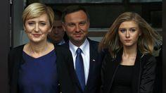 Żona Agata i córka Kinga aktywnie wspierały Andrzeja Dudę #wybory2015 #Polska
