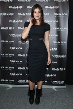 Julia Restoin-Roitfeld - Chiara Boni La Petite Robe Fall 2016 New York Fashion Week - February 16, 2016