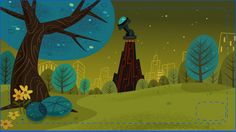 from http://mikecollinsportfolio.blogspot.com   Mike Collins-Digital Illustrator Clean Up of Background Assets for Cartoon Network Stud...