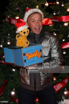 Sooty attends VIP preview night at Hyde Park Winter Wonderland on November 17, 2016 in London, United Kingdom.