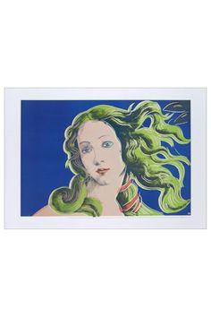 """Birth of Venus-Purple"" by Andy Warhol"