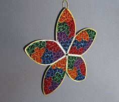 Quilling Christmas Ornament, Stained Glass Star https://www.etsy.com/listing/169225406/quilling-christmas-ornament-stained?ref=shop_home_feat