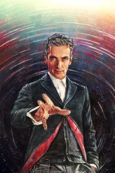 My series of paintings done for the Doctor Who... | Alice X. Zhang