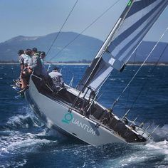 52 SuperSeries Quantum sails #watersports #sailmaker #yacht #performance #ocean #nature
