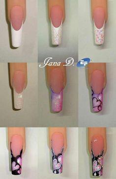 By Jana D - nails tutorial