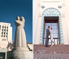 San Diego Courthouse wedding pics