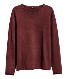 Fine-knit Cotton Sweater | H&M For Men