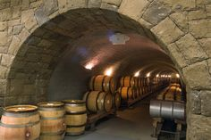 The wine caves at Archery Summit Winery, Oregon - Photo: Janis Miglavs