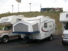2001 vanguard palomino stampede s 19 hybrid travel trailer no reserve camping pinterest. Black Bedroom Furniture Sets. Home Design Ideas