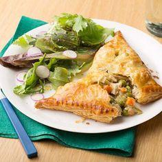 Chicken Pot Pie Turnovers By Melissa d'Arabian