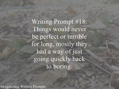 Writing Prompt Dragonition 18