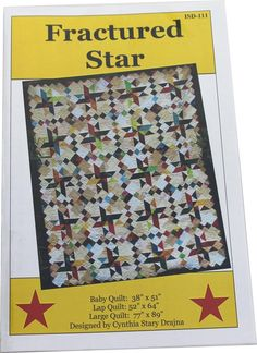 Fractured Star Pattern - Iowa Star Designs