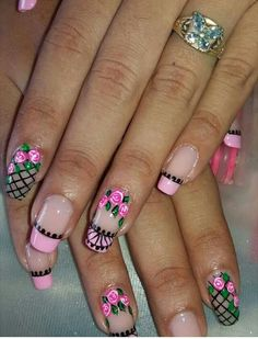 Jennifer Nails, French Tip Nail Art, Nail Accessories, Fabulous Nails, Pretty Nails, Nail Art Designs, My Nails, Finger, Lily