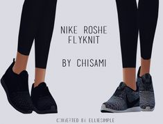 Chisami's ROSHE FLYKNIT conversion at Elliesimple via Sims 4 Updates