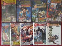 DC Millennium. Editora Brainstore. (1-9) Fev/2002 a Jul/Ago/2003. 9 Edições.