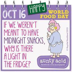 #AuntyAcid World Food Day
