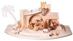 Nativity Set - 16 pcs. - Berna Nativity by Bernardi Wood Art