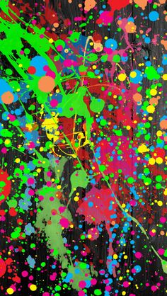 Customize your iPhone 5 with this high definition Paint Splatter wallpaper from HD Phone Wallpapers! Iphone 5 Wallpaper, Cool Wallpaper, Phone Wallpapers, Paint Splash, Color Splash, Wallpaper Downloads, Pattern Wallpaper, Ipod Backgrounds, Rainbow Painting