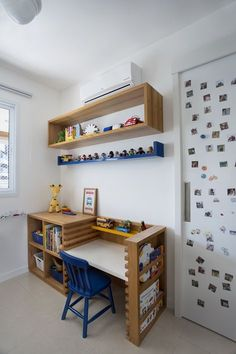 Children's Study Furniture Home Office Furniture, Kids Furniture, Kids Room Design, Kids Decor, Home Decor, Kid Spaces, Boy Room, Kids Bedroom, Home Remodeling